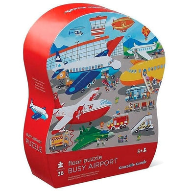 CC Shaped Box Puzzle Airport 36pc