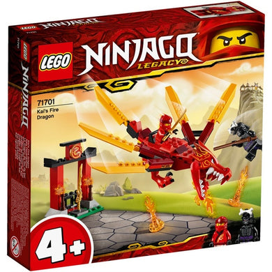 Lego Nin Kais Fire Dragon 71701