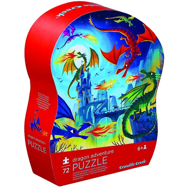 CC Shaped Dragon Adventure 72pc
