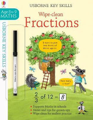 Wipe Clean Fractions 8-9