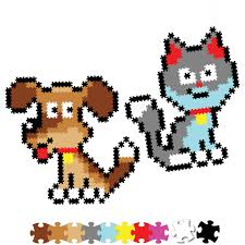 Jixels 700pc Playful Pets