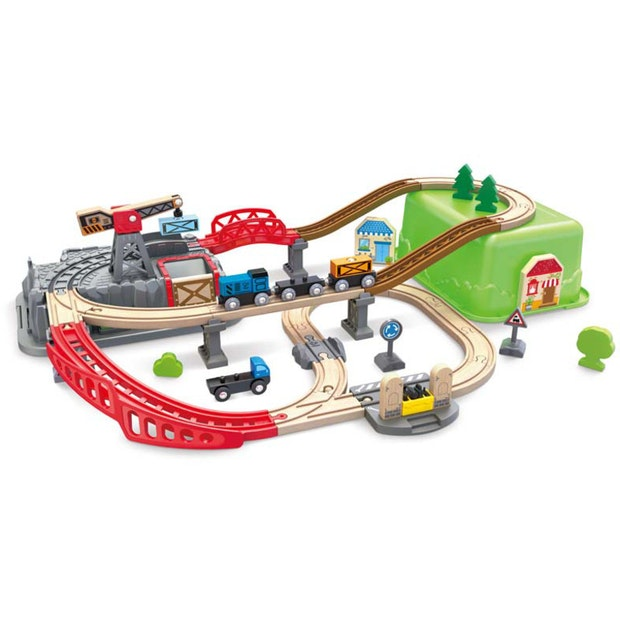 Hape Railway Bucket Builder Set
