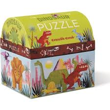 CC Mini Puzzle Dinosaurs 24pc