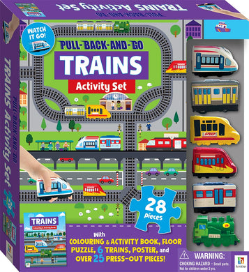 Pull Back and Go Trains Kit