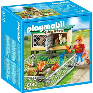 PL Rabbit Pen With Hutch