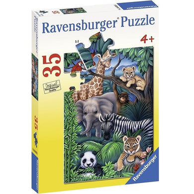 RB - Animal Kingdom Puzzle 35 pc