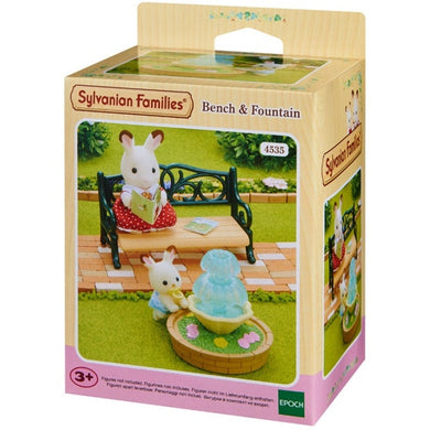 Sylvanian Bench and Fountain