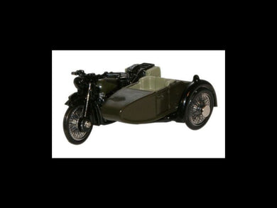 Ox BSA Bike & Sidecar 34th Armoured WWII
