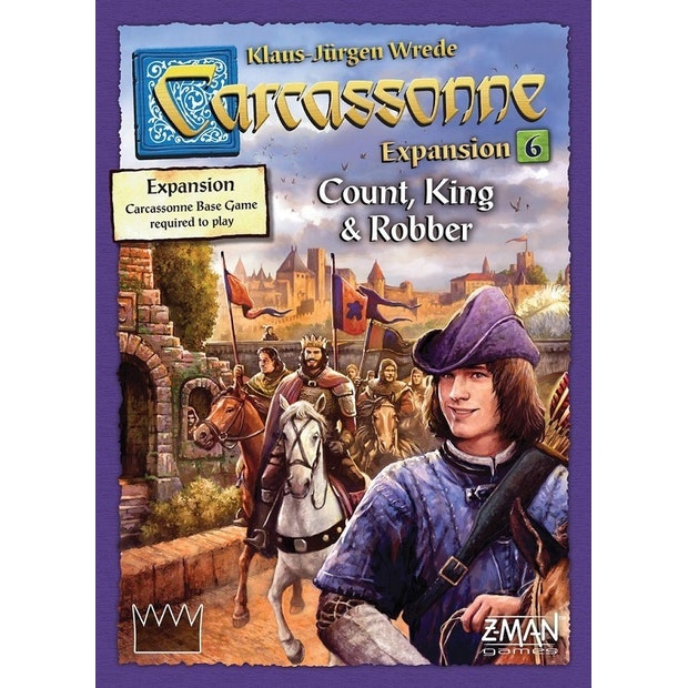 Carcassonne Count, King and Robber Ex