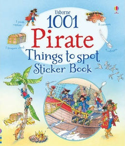 1001 Pirate Things to Spot Bk