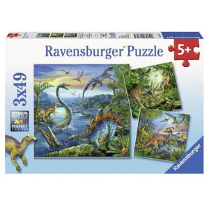 RB Dinosaur Fascination 3x49pc