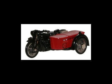 Ox BSA Bike & Sidecar Royal Mail