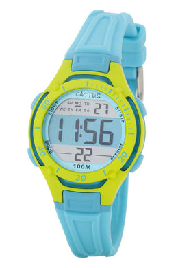 Watch 100m Multifunction LCD/Blue