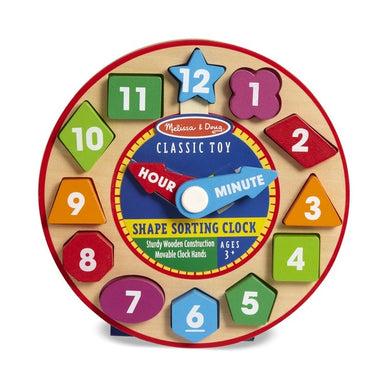 M&D Shape Sorting Clock