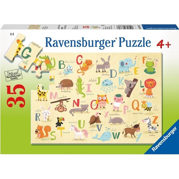RB A-Z Animals 35pc