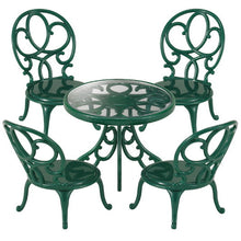 Load image into Gallery viewer, Ornate Garden Table and Chairs