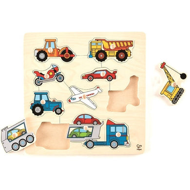 Hape Vehicles Knob Pzl