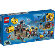 Load image into Gallery viewer, Lego City Ocean Exploration Base 60265