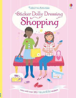 Usborne Sticker Book Shopping
