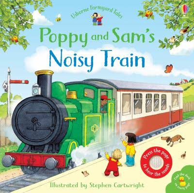 FYT Poppy & Sams Noisy Train Book