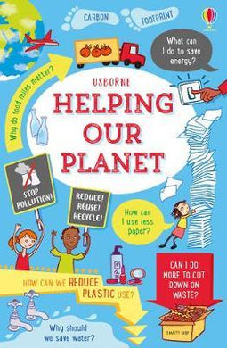 Helping Our Planet Bk