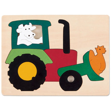 Hape Tractor Puzzle