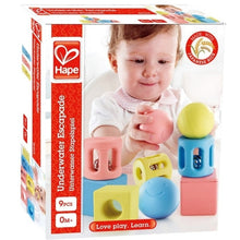 Load image into Gallery viewer, Hape Geometric Rattle Trio