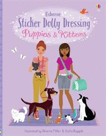 Usborne Sticker Puppies and Kittens