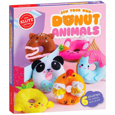Klutz Sew Own Donut Animals