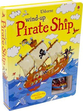 Wind Up Pirate Ship Bk