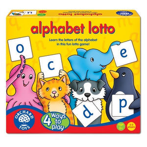 Orchard Game Alphabet Lotto
