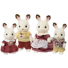 Load image into Gallery viewer, SF Chocolate Rabbit Family