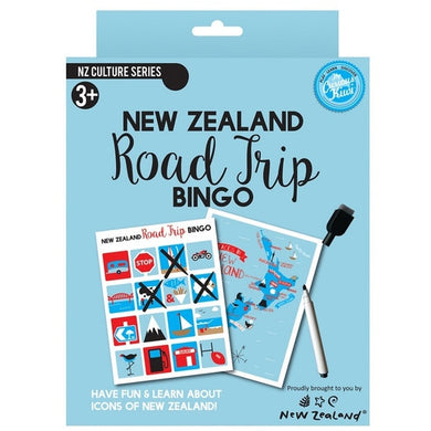 NZ Game Road Trip Bingo