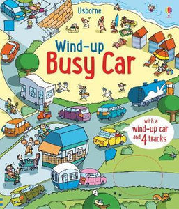Wind Up Busy Car Bk