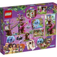 Load image into Gallery viewer, Lego Friends Jungle Rescue Base 41424