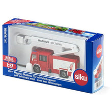 Load image into Gallery viewer, Siku Magrius Multistar Fire Truck 1:87