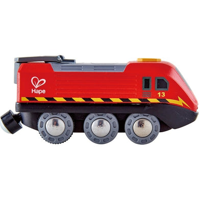 Hape Crank Powered Train