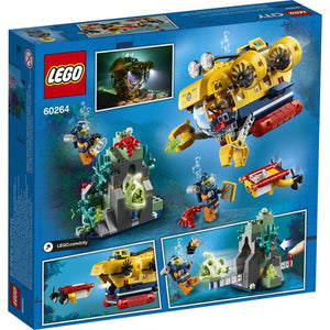 Lego City Ocean Submarine 60264
