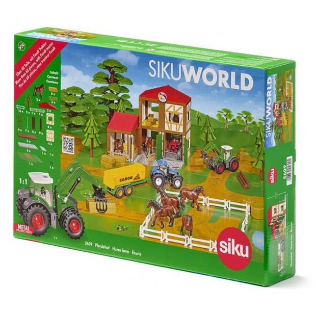 Siku World Horse Stable with Tractor