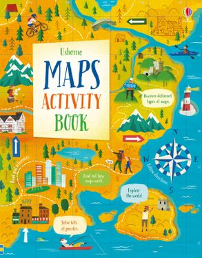 Usborne Maps Activity Bk