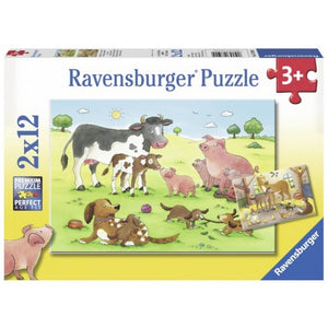 RB Animals Childrens 2x12pc