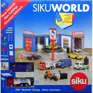 Siku World City Car Service Garage