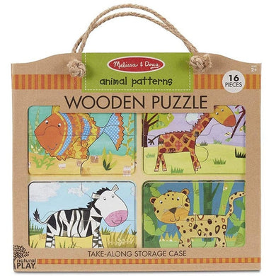 MD Wooden Puzzle Animal Patterns