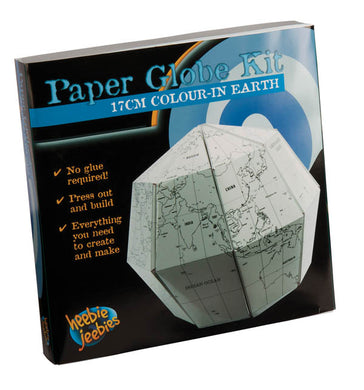 HJ Paper Globe Small Colouring