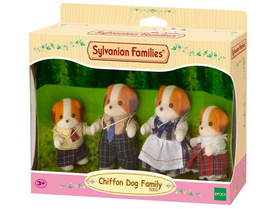 Chiffon Dog Family