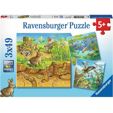 RB Animals in Habitats 3x49pc