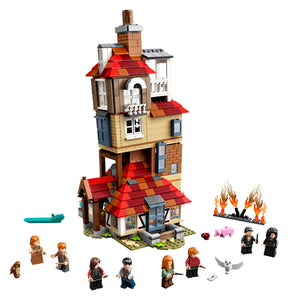 Lego Potter Attack on the Burrow 75980