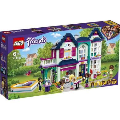 Lego Friends Andreas Family House 41449