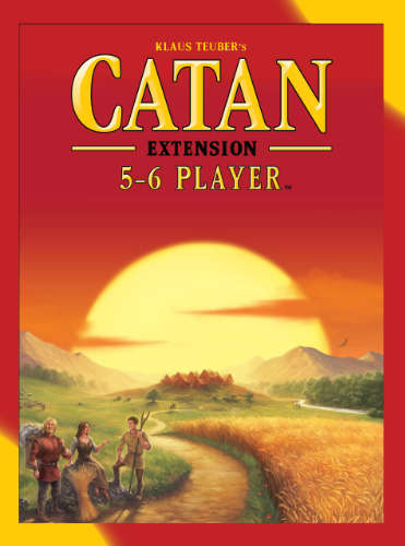 Settlers of Catan 5-6 Ex