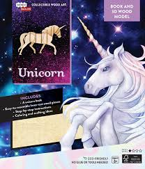 IN Unicorn 3D Model
